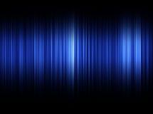 Blauwe Correcte Golven Stock Foto