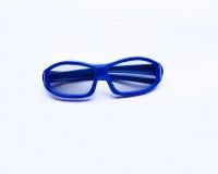 Blauwe 3D glazen voor baby Royalty-vrije Stock Afbeeldingen