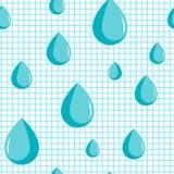 Blauwe dalingen, regenachtige dag Enuresis, incontinentie en micturition dalingen Geneeskunde medische problemen Stock Foto's