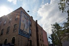 Blauwe de Blauwclub van Chicago, Chicago, Illinois royalty-vrije stock fotografie