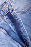 Blauwe de broekclose-up van Jean royalty-vrije stock foto