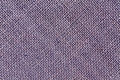 Blauwe de doektextuur van de Jutezak Royalty-vrije Stock Foto's