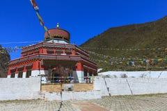 Blauwe de Sneeuwberg van Shika van de Maanvallei bij Shangri-La, Yunnan, CH Royalty-vrije Stock Fotografie