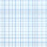 Blauwe de strepenplaid van de pastelkleur Stock Afbeelding