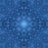 Blauwe de veerbloem van de erwtenhaan Stock Afbeelding
