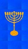 Blauwe decoratieve achtergrond Verticaal formaat voor Slimme telefoon Royalty-vrije Stock Afbeelding
