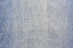 Blauwe denimtextuur Royalty-vrije Stock Fotografie