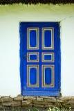 Blauwe Deur Royalty-vrije Stock Fotografie