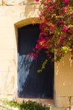 Blauwe deur Gozo Royalty-vrije Stock Foto's