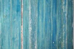 Blauwe deur in het onderstel stock afbeelding