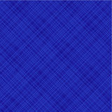 Blauwe diagonale stof, naadloos inbegrepen patroon Stock Fotografie