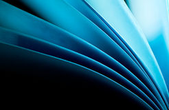 Blauwe document achtergrond Stock Foto