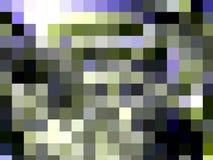 Blauwe donkergroene vierkante het fonkelen meetkunde, lichten, abstracte achtergrond, meetkunde, heldere achtergrond, kleurrijke  vector illustratie