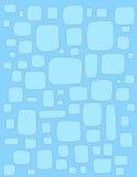 Blauwe doosachtergrond Stock Afbeeldingen