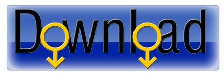 Blauwe Download royalty-vrije illustratie