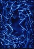 Blauwe Draaikolk Royalty-vrije Stock Afbeeldingen