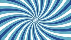 Blauwe draaikolk met overzicht Royalty-vrije Stock Foto's