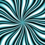 Blauwe Draaikolk Swirly Stock Afbeelding