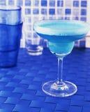 Blauwe drank Stock Afbeelding