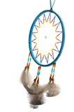 Blauwe Dreamcatcher Royalty-vrije Stock Afbeeldingen