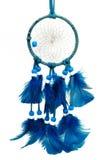 Blauwe Dreamcatcher royalty-vrije stock foto