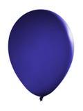 Blauwe drijvende ballon Stock Foto's
