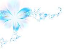 Blauwe droom royalty-vrije illustratie
