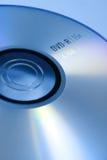 Blauwe DVD stock fotografie
