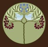 Blauwe Dwergpapegaaien vector illustratie