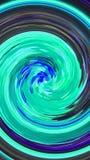 Blauwe efficiënte werveling royalty-vrije illustratie