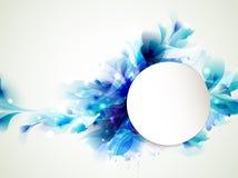 Blauwe elementen vector illustratie