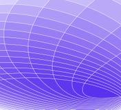 Blauwe elliptisch stock illustratie