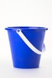 Blauwe emmer Royalty-vrije Stock Afbeeldingen