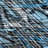 Blauwe en grijze abstracte objecten mooie vectorillustratie als achtergrond Royalty-vrije Stock Fotografie