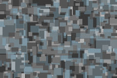 Blauwe en Grijze Achtergrond Stock Fotografie