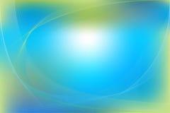 Blauwe en Groene Abstracte Achtergrond. Vector Stock Foto