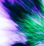 Blauwe en groene samenvatting Stock Foto