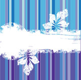 Blauwe en purpere grunge bacground Stock Fotografie