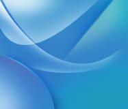 Blauwe en purpere vormen Royalty-vrije Stock Foto