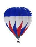 Blauwe en rode ballon Stock Fotografie