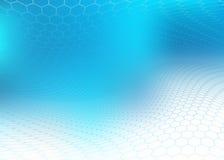 Blauwe en witte achtergrond Royalty-vrije Stock Fotografie