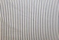 Blauwe en Witte het Patroonachtergrond van de Strepenstof Royalty-vrije Stock Afbeelding