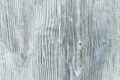 Blauwe en witte houten achtergrond Stock Afbeelding