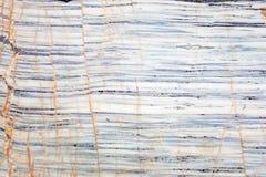 Blauwe en witte marmeren de textuurachtergrond van het steenonyx Stock Fotografie