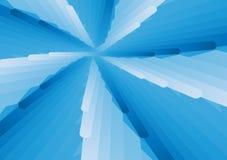 Blauwe en witte overlappings abstracte vector als achtergrond royalty-vrije illustratie