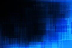 Blauwe en zwarte abstracte achtergrond Royalty-vrije Stock Foto
