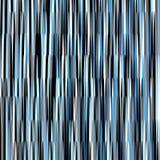 Blauwe en zwarte lijnen vectorillustratie als achtergrond Stock Afbeelding