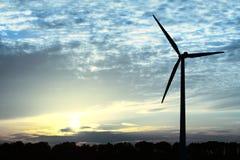 Blauwe Energie stock foto