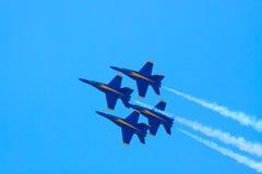 Blauwe Engelen Royalty-vrije Stock Afbeelding