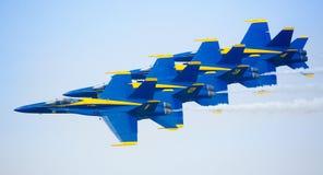 Blauwe Engelen Stock Foto's